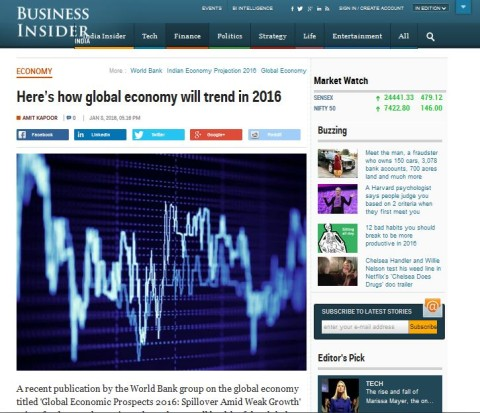 Here's how global economy will trend in 2016