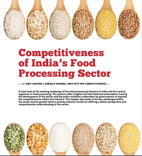 Competitiveness of India's Food Processing Sector