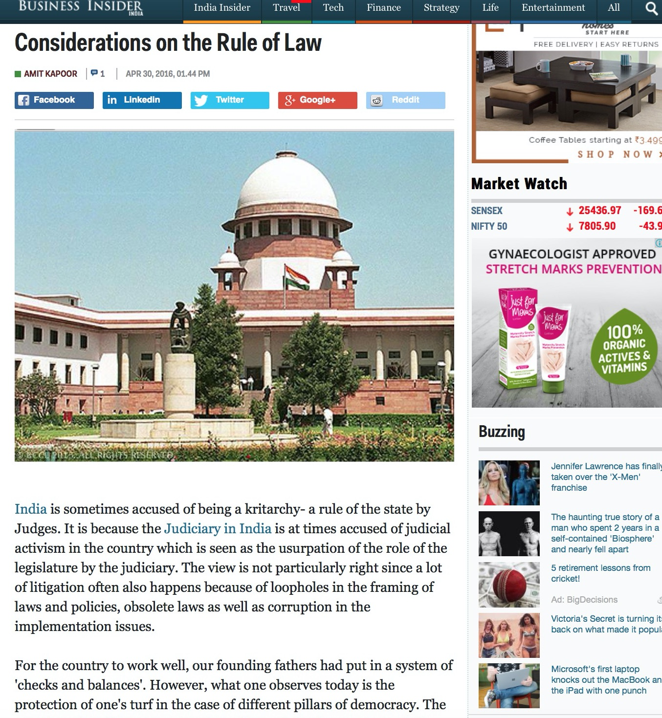 role of judiciary in india In india the constitution is supreme and the judiciary is an independent institution the constituent assembly which framed the constitution, emphasized utmost need of keeping the judicial organ completely free from the control and influence of the executive and legislature.