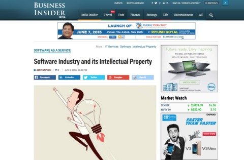 Software Industry and its Intellectual Property