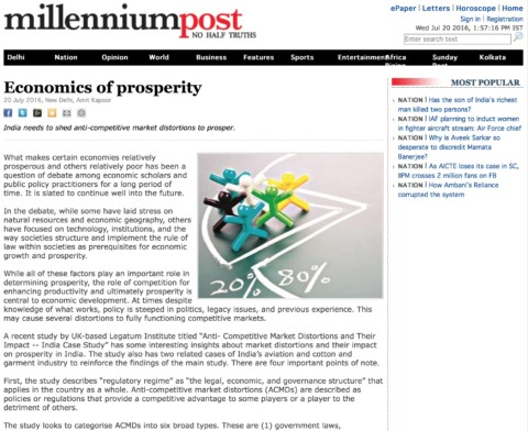 Economics of prosperity