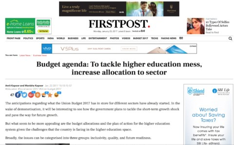 Budget agenda: To tackle higher education mess, increase allocation to sector