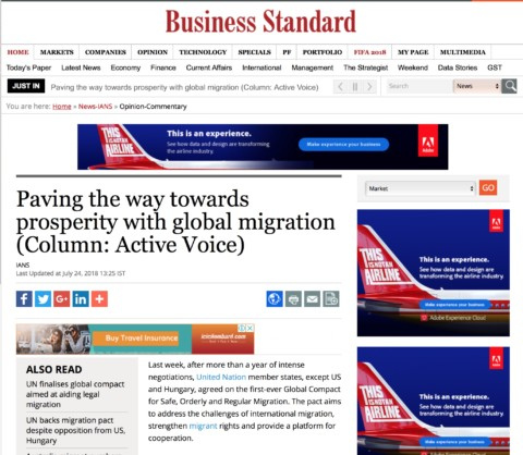 Paving the way towards prosperity with global migration