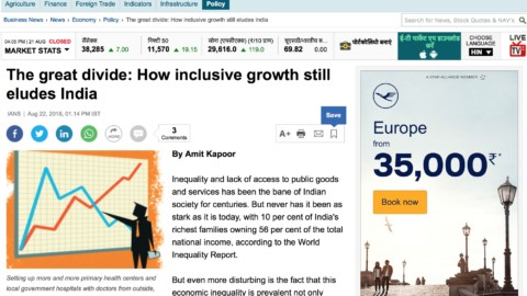 The great divide: How inclusive growth still eludes India