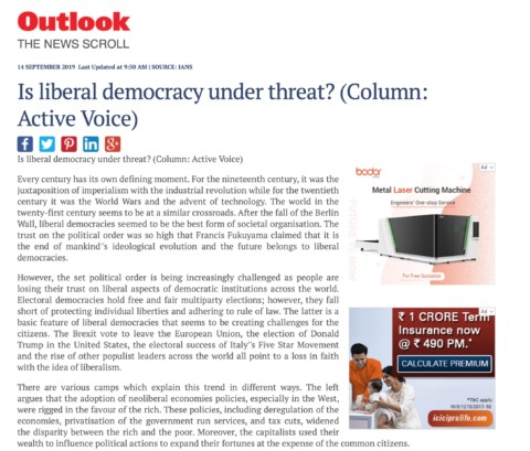 Is Liberal Democracy Under Threat?
